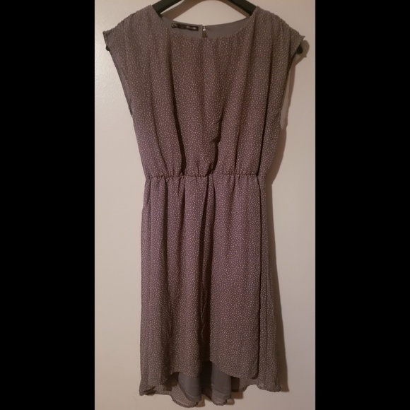 Maurices Dresses & Skirts - Mauve/dusty rose sleeveless blouson sheath dress